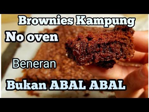 Resep Brownies Kampung. Asli Brownie bukan Cake