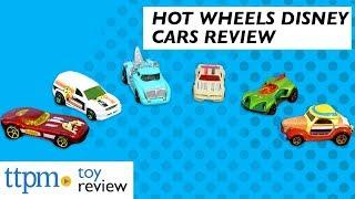 Hot Wheels Disney Die Cast Cars from Mattel