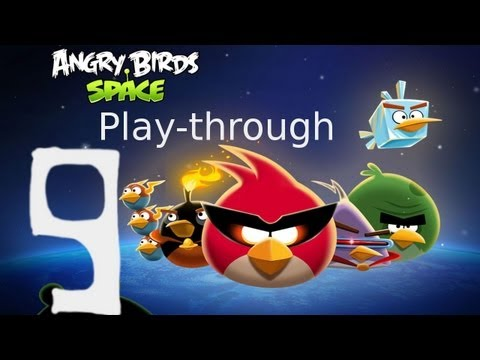 Let's Play Angry Birds Space 09 - The Fantabulous Gluttonarium of Dr. Porknbacon