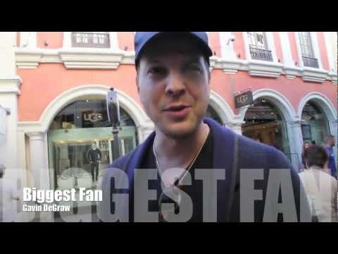 Country Singer , Gavin DeGraw talks about Groupies and Fans