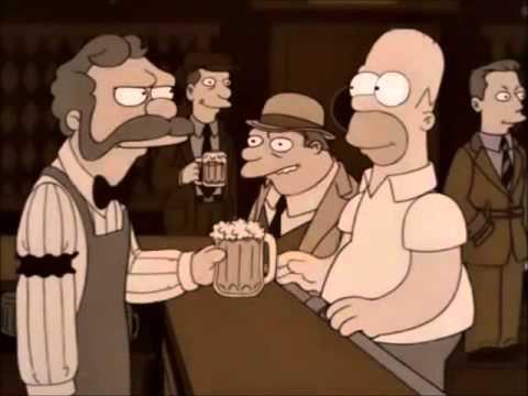 Homero de parranda [Los Simpson - Latino]