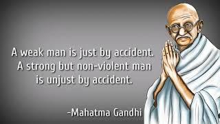 Mahatma Gandhi's Inspirational Quotes|Move On