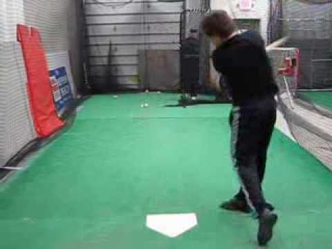 Justin Kendall Hitting Lefty 11/2013
