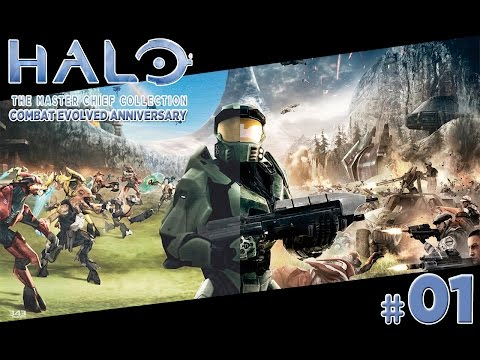 Halo Combat Evolved Anniversary - Gameplay Do Inicio Master Chief Collection (pt-br) [xbox One]