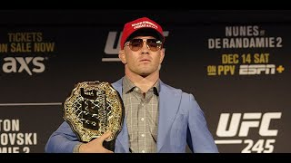 Colby Covington: 'Everybody knows this is my second title defense' (UFC 245)