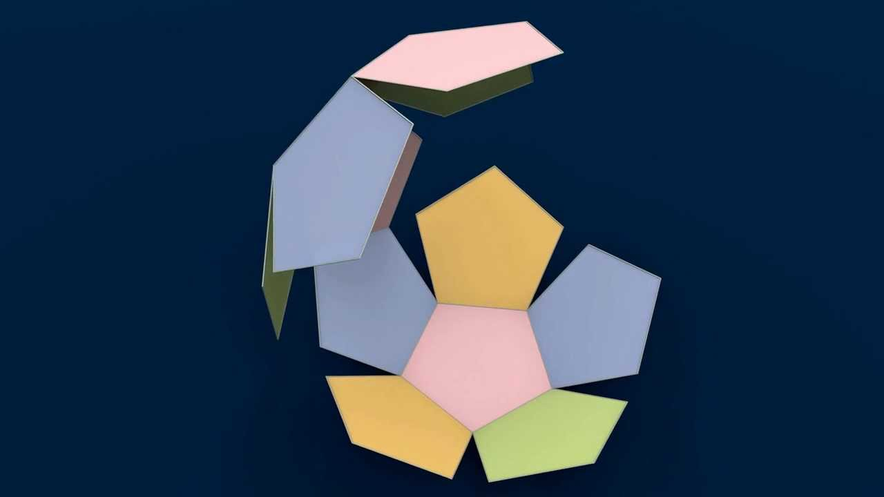 Make 3d Solid Shapes Dodecahedron Youtube