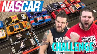 Ultimate NASCAR Toy Racing Challenge - 32 Car Tournament Who is The FASTEST?