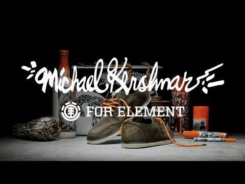 "ELEMENT ""MICHAEL KERSHNAR"" SHOE AND VIDEO"