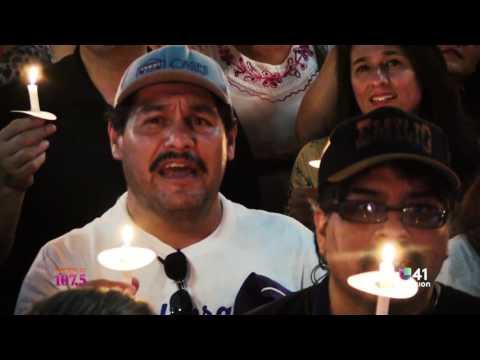 #CelebrandoEmilio Candlelight Vigil