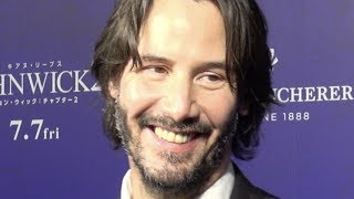 Keanu Reeves, Chad Stahelski/ John Wick: Chapter 2 Japan Premier