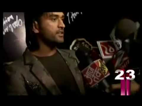 Girls Crazy behind Mahendra Singh Dhoni Video