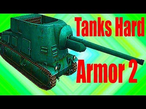 TANKS HARD ARMOR 2 видео для детей как игра экшен много танков игра как мультфильмы про танки