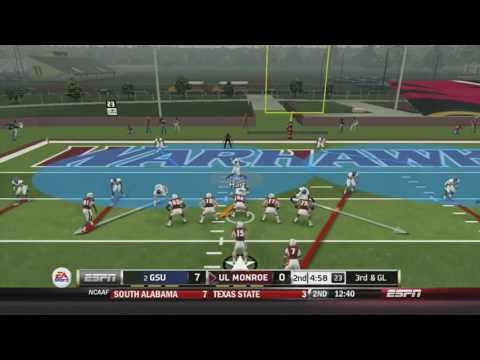 #2 Ga. State Takes on Fake Tebow and UL Monroe (NCAA Football 14) by iPullUp2DaHaus