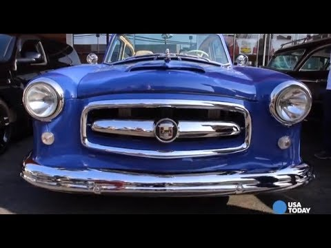 Just Cool Cars :1953 Blue Nash Revival