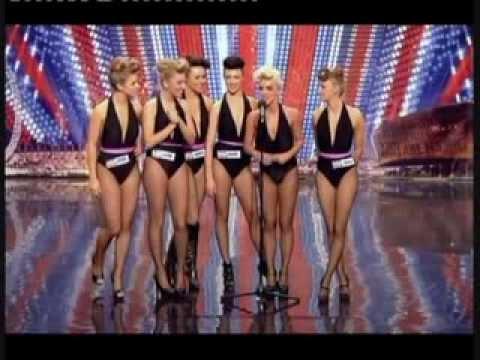 Britain's Got Talent Amazing Girls Sexy Dance New 2014 video