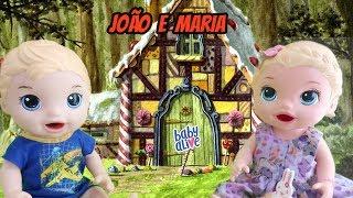 JOÃO E MARIA COM AS BABY ALIVES - HISTORIA INFANTIL - TIA NANI
