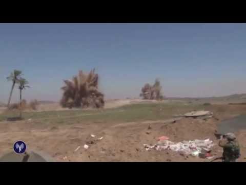 IDF Forces Detonate Tunnels in Gaza