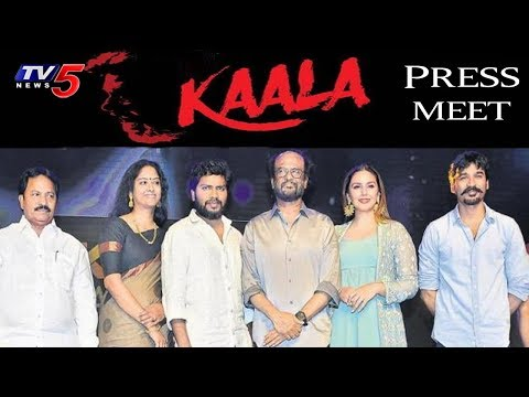 Kaala Movie Press Meet | Rajinikanth | Director Pa Ranjith | Dhanush | Santhosh Narayanan | TV5