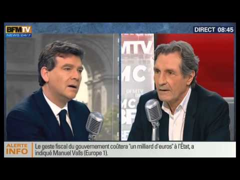 Bourdin Direct: Arnaud Montebourg - 16/05