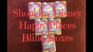 Shopkins Blind Boxes| Disney Happy Places