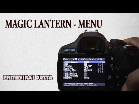 Magic Lantern - Menu l Prithviraj Dutta thumbnail