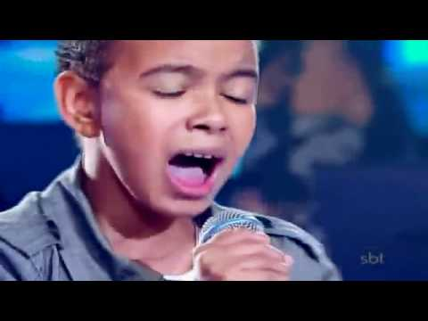 Nio brasileo con una voz como la de Michael Jackson - Agnus Dei - Jotta A. - Brazil