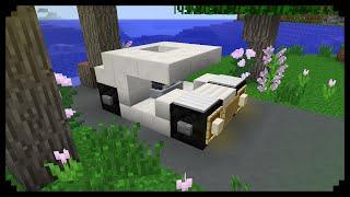 ✔ Minecraft: How to make a Mini Cooper