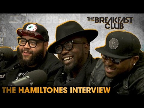 The Hamiltones Interview at The Breakfast Club Power 105.1 (04/29/2016)