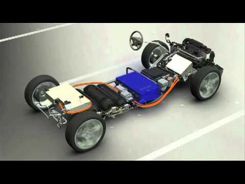 Обзор Mercedes-Benz B-Class F-Cell (водородные топливные элементы), технологии