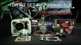 TDR KIT SET For Kawasaki KLX