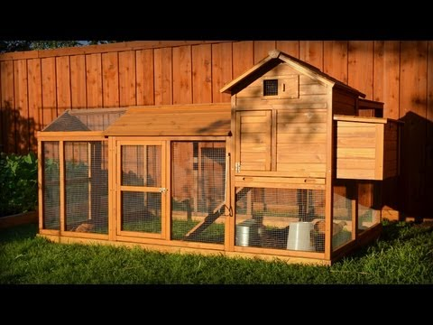 Building a Chicken Coop Kit w/ Additional Modifications