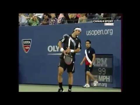 Nadal vs Gonzalez 2009 US Open Quarterfinals