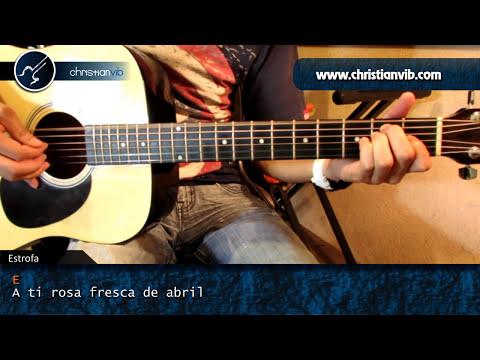 Como tocar SEÑORA SEÑORA en Guitarra Acustica (HD) Tutorial Arpegios
