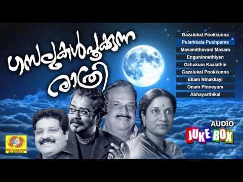 ഹൃദയതന്ത്രികളെ തൊട്ടുണർത്തുന്ന ഗാനങ്ങൾ | ഗസലുകൾപൂക്കുന്ന രാത്രി | Latest Malayalam Gazals 2017