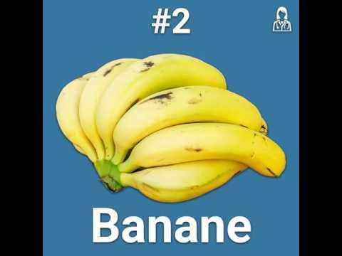 mangiare 2 banane al giorno