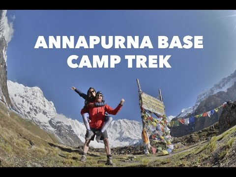 Hiking the Annapurna Track - post Nepal earthquake