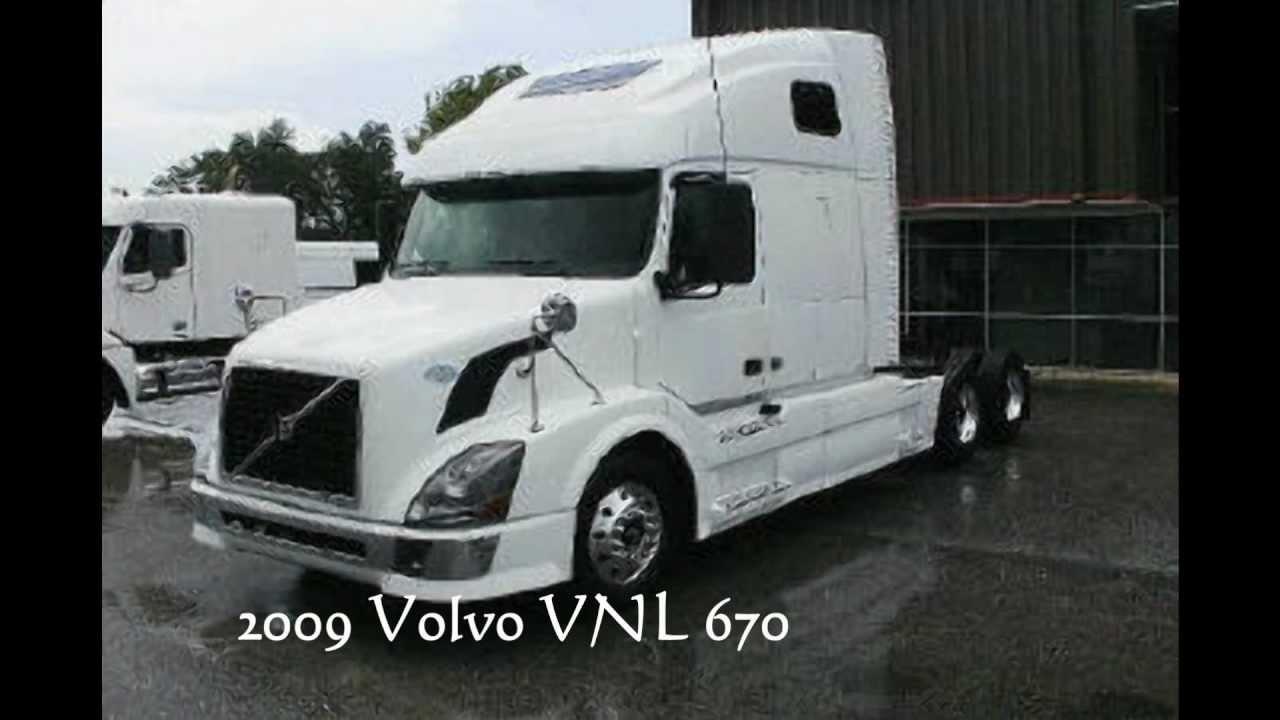 Volvo trucks for sale. 2009 Volvo VNL 670, Florida truck for sale! - YouTube