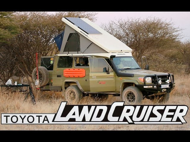 Toyota Land Cruiser - The Ultimate Camper Conversion
