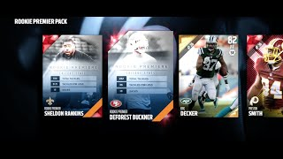 NEW CONFUSING MUT 17 ROOKIE PROMO! WHY I DISAPPEARED EXPLANATION! Madden 16 Ultimate Team
