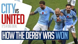 HOW THE DERBY WAS WON | Exclusive Behind the Scenes Access | Manchester City 3-1 Manchester United