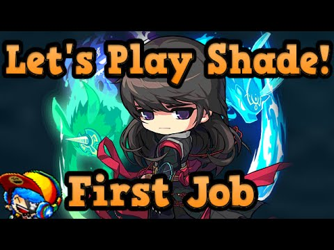 Maplestory: Lets Play Shade- First Job - Training Levels 1-3