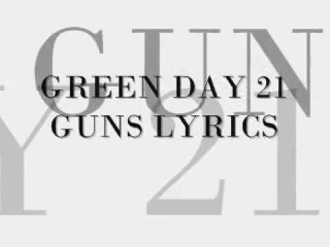 green day  21 guns lyrics