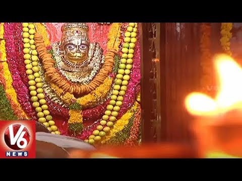 Devotees Throng Hanuman Temples On The Eve Of Hanuman Jayanthi | Hyderabad| V6 News