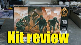 Kit review: Masterbox German infantry in 1/35 scale