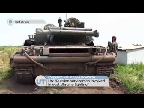 UN: Russian servicemen involved in fighting in Ukraine