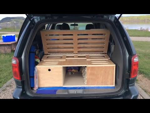 Dodge grand caravan 2005 camperized