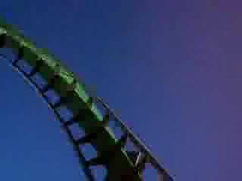 Incredible Hulk Coaster Ride