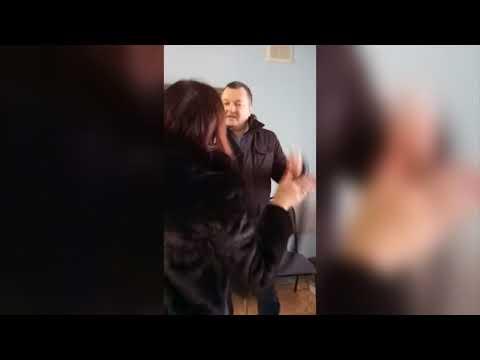 Разборки подполковника полиции, ее мужа и учительницы, избитый юрист. Место происшествия 07.12.2017