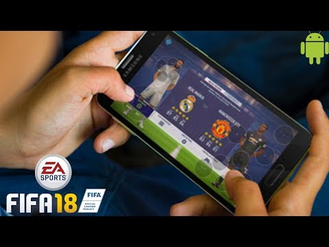Playing FIFA 18 on Android!