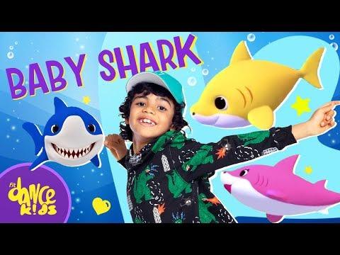 BABY SHARK - PINK FONG (Coreografia Oficial) Dance Video
